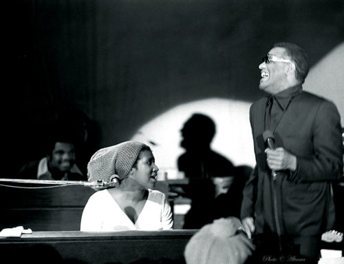Ray Charles and Aretha Franklin