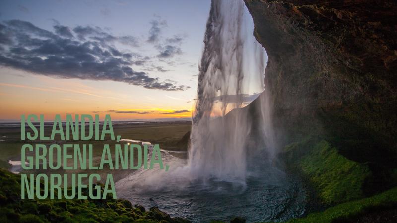 Islandia, Groenlandia, Noruega