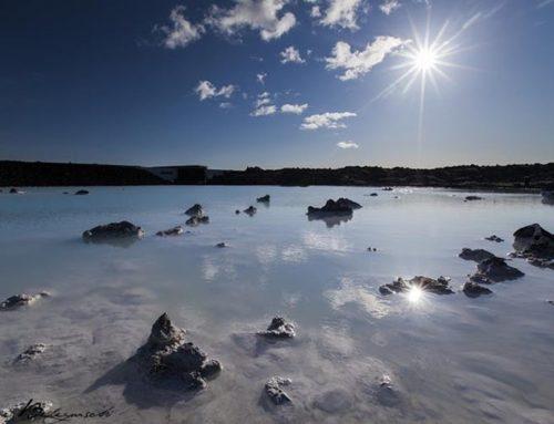 Blue Lagoon en la tierra del hielo y el fuego.