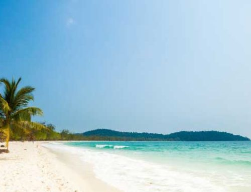 Koh Rong y sus playas de serena belleza.