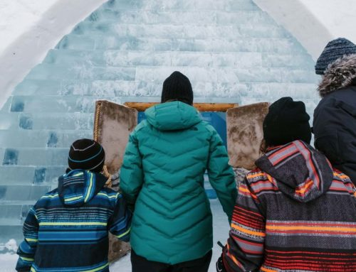 Una obra maestra impresionante de hielo – Hôtel de Glace