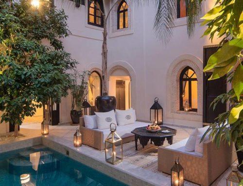 Raid Kheirredine en Marruecos, un jardín del paraíso en una ciudad vibrante